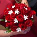 130x130 sq 1280775778082 bridesmaidsbouquet