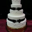 130x130 sq 1384790634213 classic wedding cak