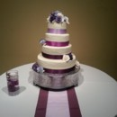 130x130 sq 1384790875498 purple wedding cak