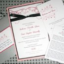The full spectrum of wedding materials for the outdoor garden wedding of Sabrina and Sean