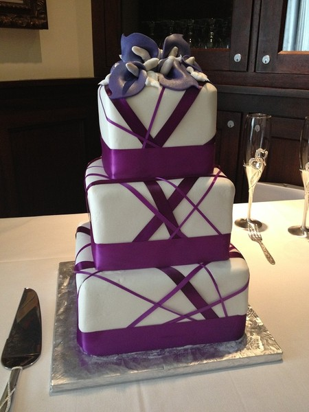 purple calla lily wedding cakes creative cakes by reviews dallas cake amp bakery 18894