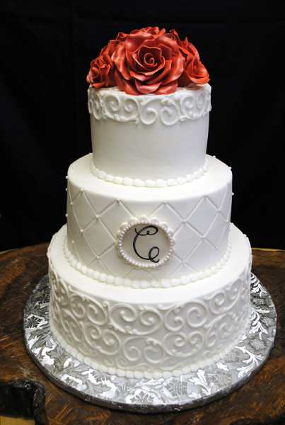 wedding cakes dallas pricing 600x600 1416261427667 wedding cake with scrolls and coral 24139