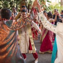 220x220 sq 1473053492968 05groom dancing at his baraat