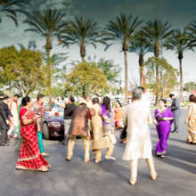 220x220 sq 1473053581161 05grooms family dancing at the indian baraat