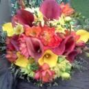 130x130 sq 1380080969362 calla lily and dahlia bouquet