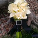 130x130 sq 1380081523698 white calla lily and pearls bouquet