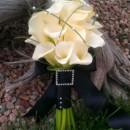 130x130 sq 1380081523698 white calla lily and pearls bouquet