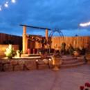 130x130 sq 1414177532927 garden at dusk