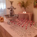130x130 sq 1445026441861 champagne fountain and flutes