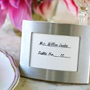 Silver Arc Photo Frame/Place Card Holder