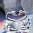 Kissing Crystal Swan