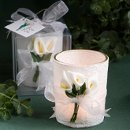 Calla Lily Design Candle Holder
