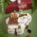 Elephant Design Trinket Box
