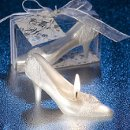 Fairytale Shoe Candle Favor