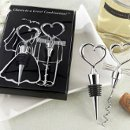 Bride and Groom Wine Tool Set
