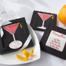 Cosmopolitan Reversible Coaster with Recipe