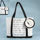 Canvas Welcome Tote