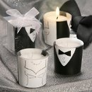 Gown and Tux Design Candles