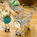Shopping Cart Candy Holders