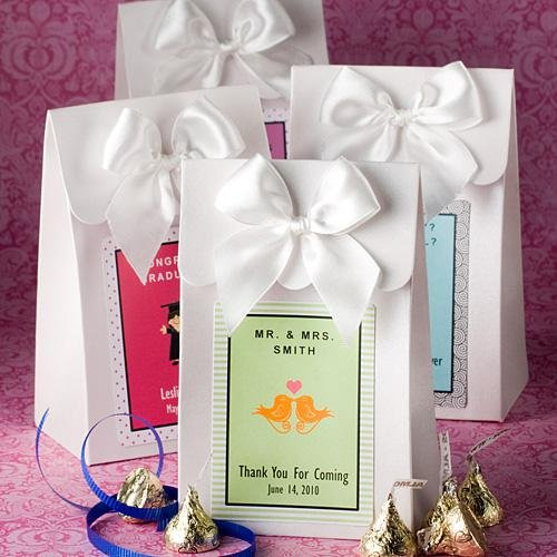Personalized Favor Boxes (comes in other colors)