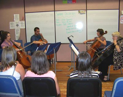photo 8 of Cellidoscope Cello Quartet