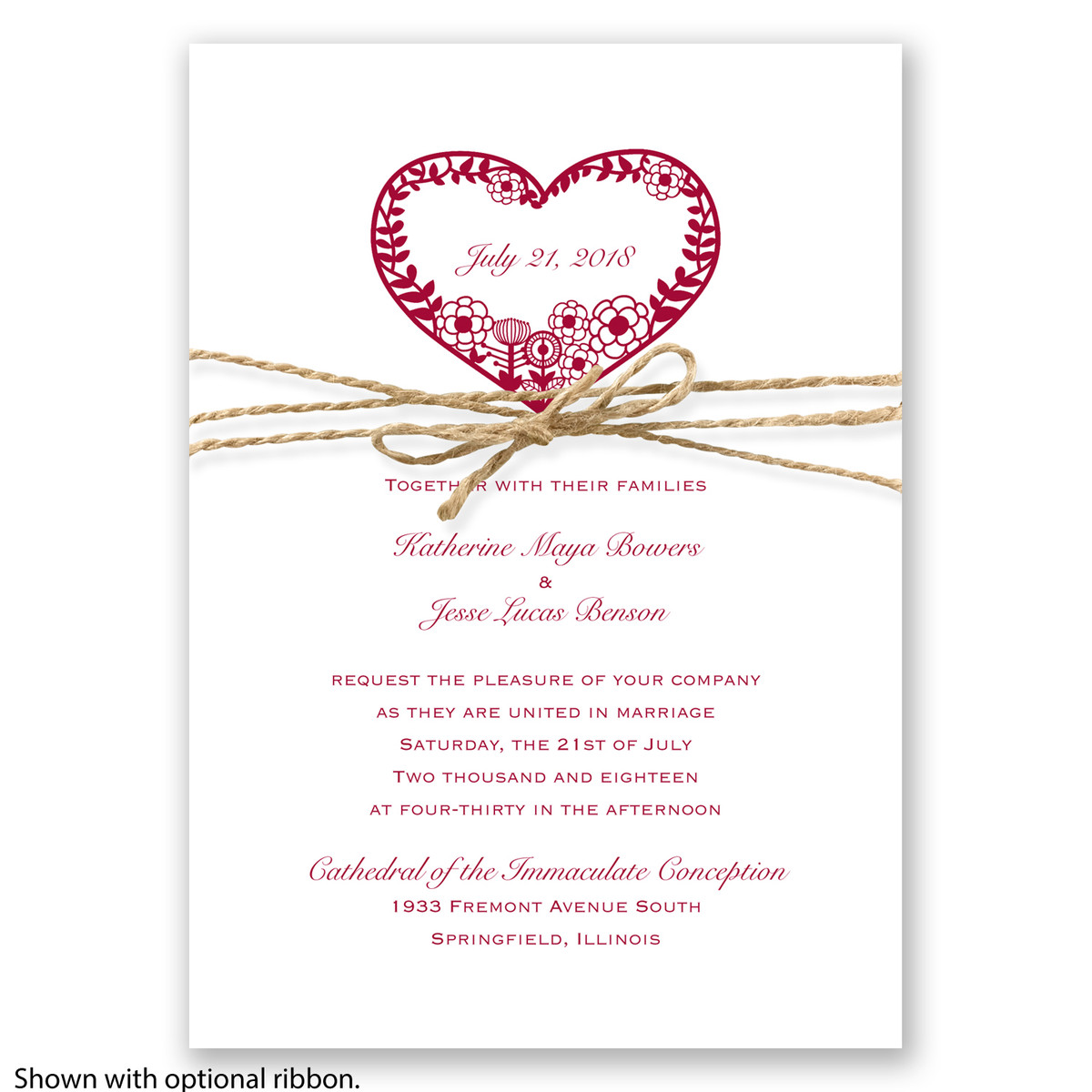 Davids Bridal Wedding Invitations 017 - Davids Bridal Wedding Invitations