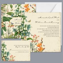 Natureu0027s Gift   Invitation Item Number DB9841AA5D A Floral And  Nature Inspired Wedding Invitation With
