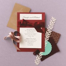 Treasured Jewels Border - Onyx & Bright White Invitation Item Number DBN9855X2U Send a message of color and elegance with this invitation available in many color combinations!