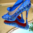 130x130 sq 1449193368188 import blueweddingshoespeeptoesomethingblueshoessa