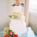 130x130 sq 1420588437106 gold drip signature wedding cake