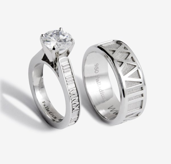 1340131777404 RomanNumeralrings1000  wedding jewelry