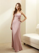 L144010 Strapless sweetheart gown with pleated front and fabric flower accent at waist. Spring 2012 Collection