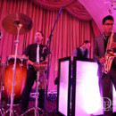 130x130 sq 1402368946418 de band in los angeles with saxophone and percussi