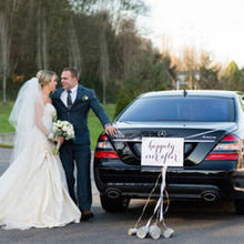 220x220 sq 1462597907 b13f969c63d5fe40 ava bride groom just married car