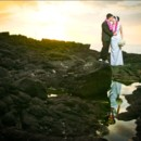 130x130 sq 1390331919026 sunset cove   bride and groom on lava rock