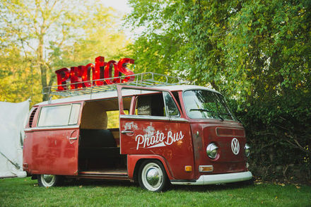 The Photo Bus VW Photo Booth