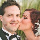 130x130 sq 1399348269659 bride and groom kiss hair and makeu