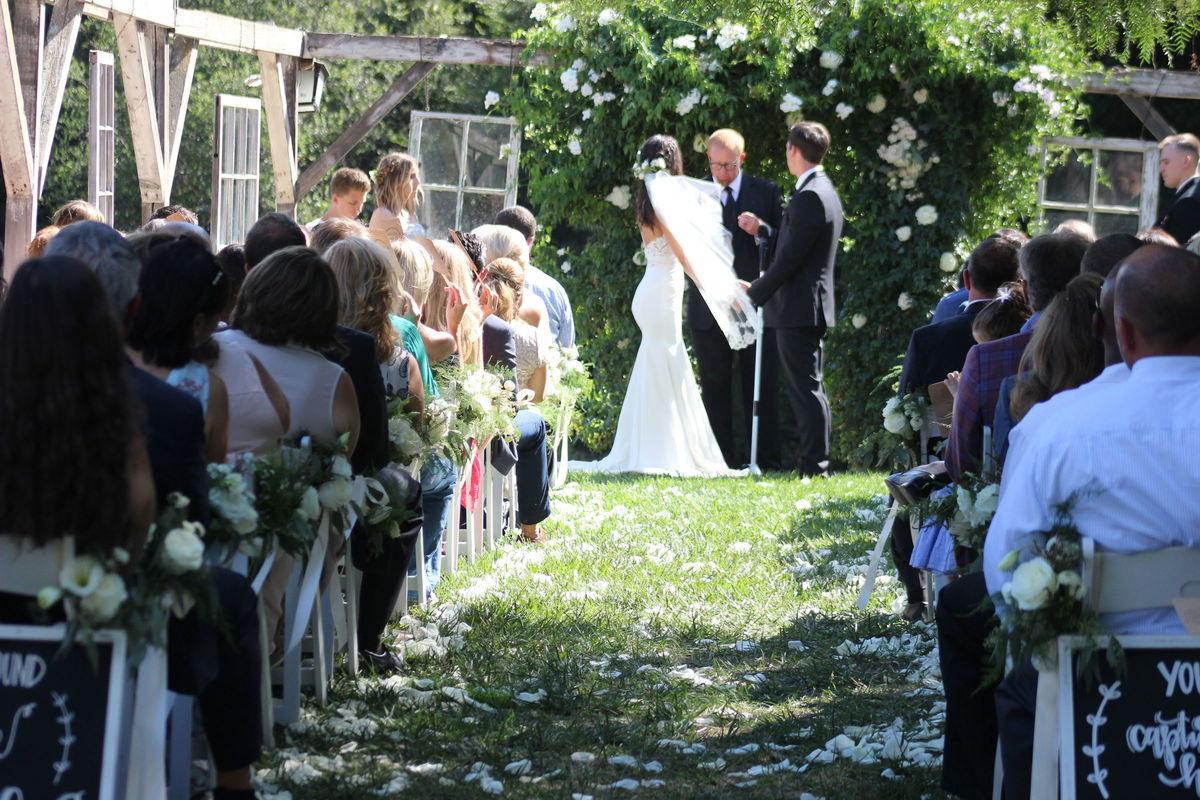 secluded garden estate venue pala ca weddingwire