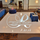 130x130 sq 1453995340222 signature banquets gobo on white dance floor
