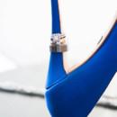 130x130 sq 1390502526720 blue wedding shoe
