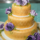 130x130 sq 1390502609674 gold wedding cak