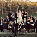 130x130 sq 1458658056730 bridal party at the ceremony rock at hideout on th