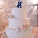 130x130 sq 1473359964648 rustic elegant cowboy wedding cake with flowers an