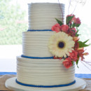 130x130 sq 1473359975496 shabby chic blue and orange buttercream ruffle wed