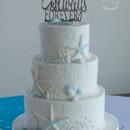 130x130 sq 1473360012244 starfish and shell beach wedding cake 4