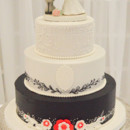 130x130 sq 1473360069930 words of love wedding cake 1