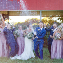 220x220 sq 1483545328222 chris and erin married bridal party 0041 2