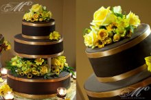 220x220 1332435326587 chocolategoldweddingcake
