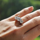 130x130 sq 1415908518457 ellise three stone engagement ring