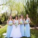 130x130 sq 1531278285 c6b559f6a5e041e5 blue white wedding bridal party bouquets prescott allans.jpeg